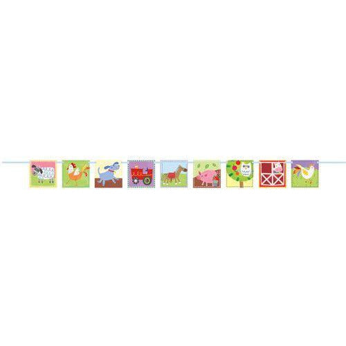 Farm Party Block Banner-7Ft