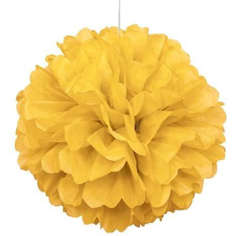 Puff Decoration Sun Yellow (Also Upstairs)