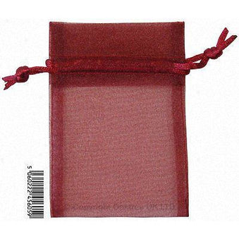 Eleganza bag 9cm x 12.5cm burgandy 10 pcs