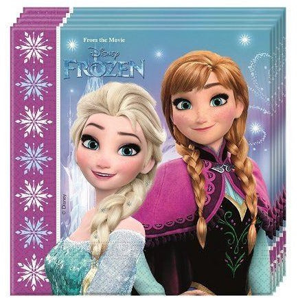 NAPKINS PAPER TWO-PLY 20CT,  DISNEY FROZEN