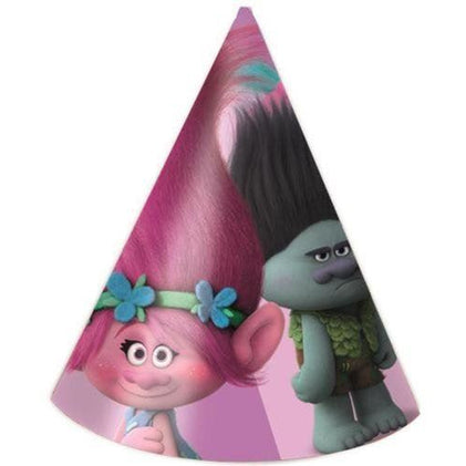 Dreamworks Trolls party hats