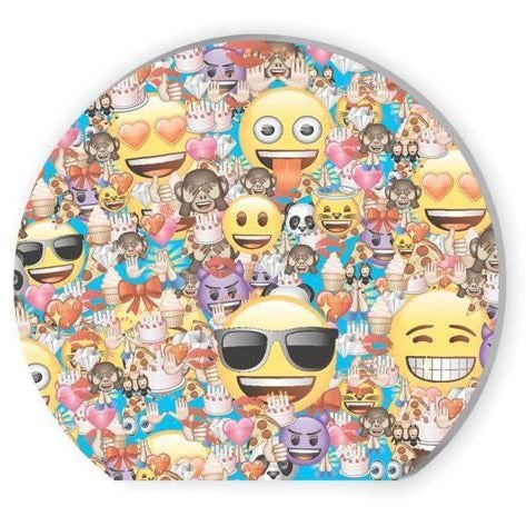 Emoji Shaped Notepads, 4ct