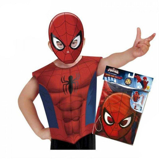 Marvel Avengers Spiderman Mask and Vest Costume Partytime