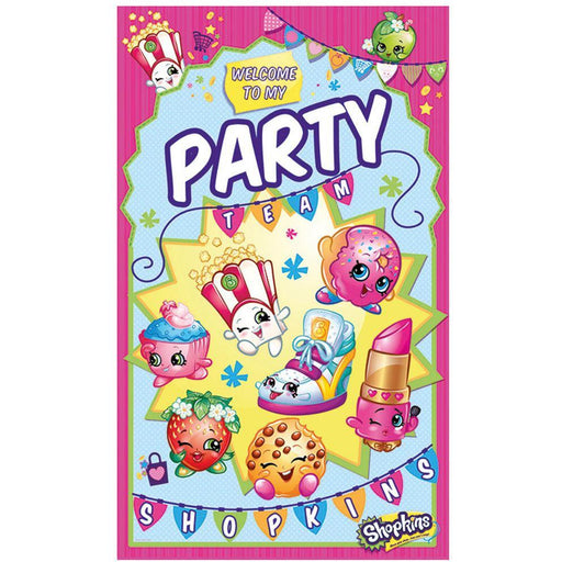 Door Banner Shopkins - end of line April 2018 (Clear Tubs - Stacked)