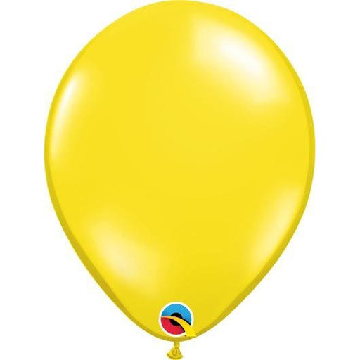 "11""  RND  CTRN YELLOW    100CT,  QUALATEX PLAIN LATEX"