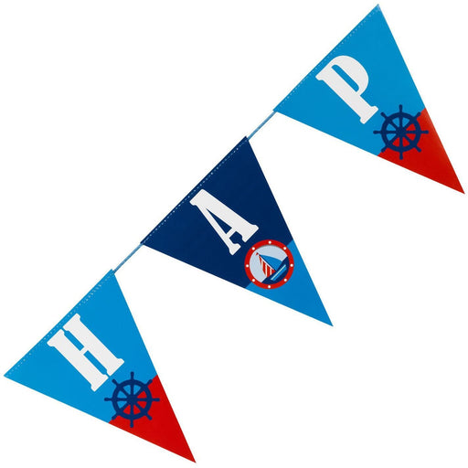 Ahoy There Happy Birthday Bunting