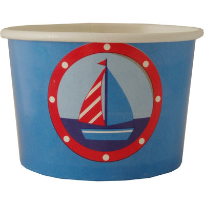 Ahoy there Treat Tubs- end of line - no further stock - END OF LINE (Clear Tubs - Stacked)