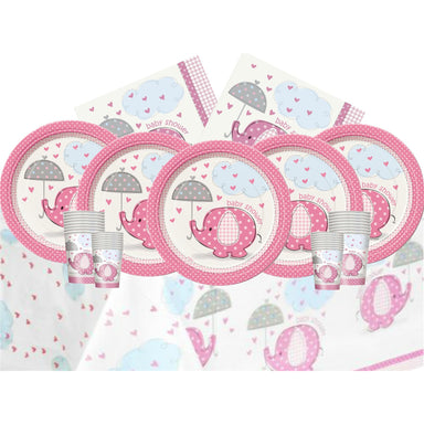 Umbrellaphants Pink Set for 16 (EBAY)