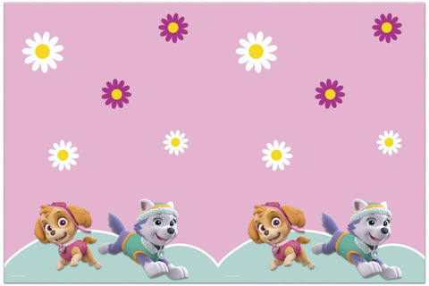 PARTY TABLE COVER 1CT Paw Patrol Skye and Everest