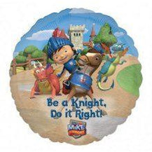 MikeThe Knight-Be a Knight, Do it Right Foil Balloon 18 in/45cm