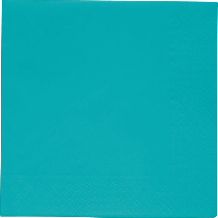 BBS TURQUOISE GREEN NAPKINS 33x33 CM 2 PLY - END OF LINE
