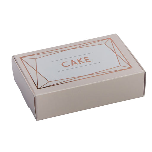 Geo Blush - Cake Box - 10 due 01/08/18
