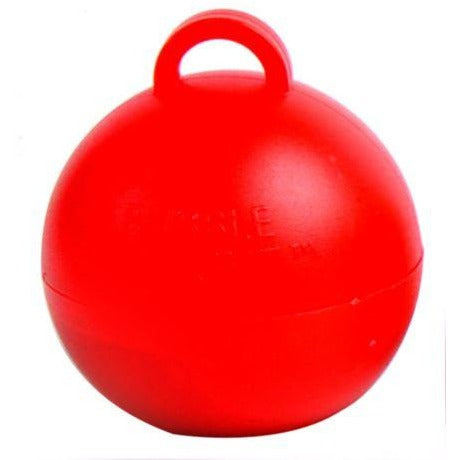 Bubble Balloon Weight Red
