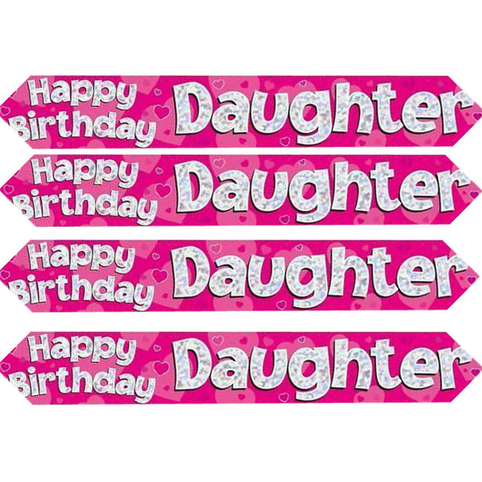 Oaktree happy birthday daughter banner