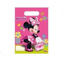 PARTY BAGS 6CT DISNEY MINNIE MOUSE