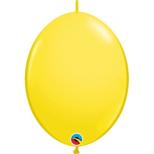 "06"" QLINK YELLOW          50CT,  QUALATEX QUICK LINK BALLOONS"
