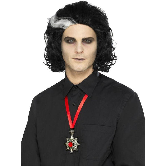 Deluxe Vampire Metal Medallion Necklace