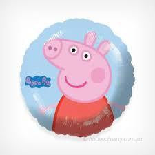 "18"" Round Peppa Pig Balloon"