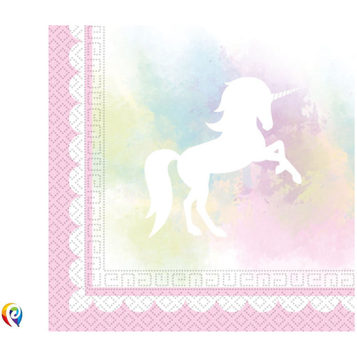 Believe In Unicorns Paper Napkins