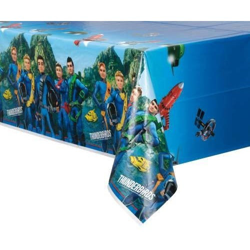 Thunderbirds Plastic Tablecover 54X84