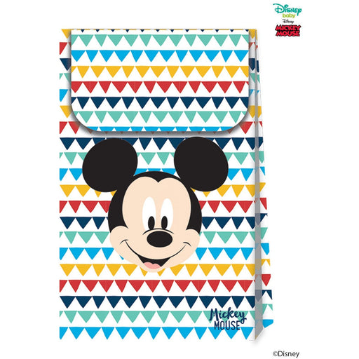Disney Awesome Mickey Mouse Paper Party Bags 6ct