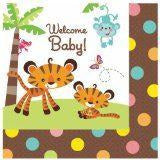 Fisher Price Baby Shower Napkins - end of line (CLR:4)