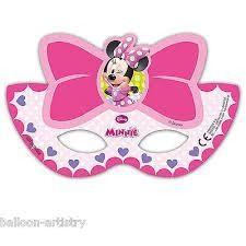 PARTY MASKS 6CT DISNEY MINNIE