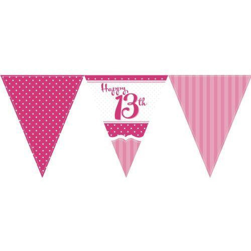 Perfectly Pink Bunting 13th