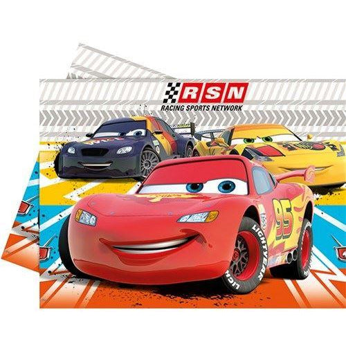 Pixar cars table cover