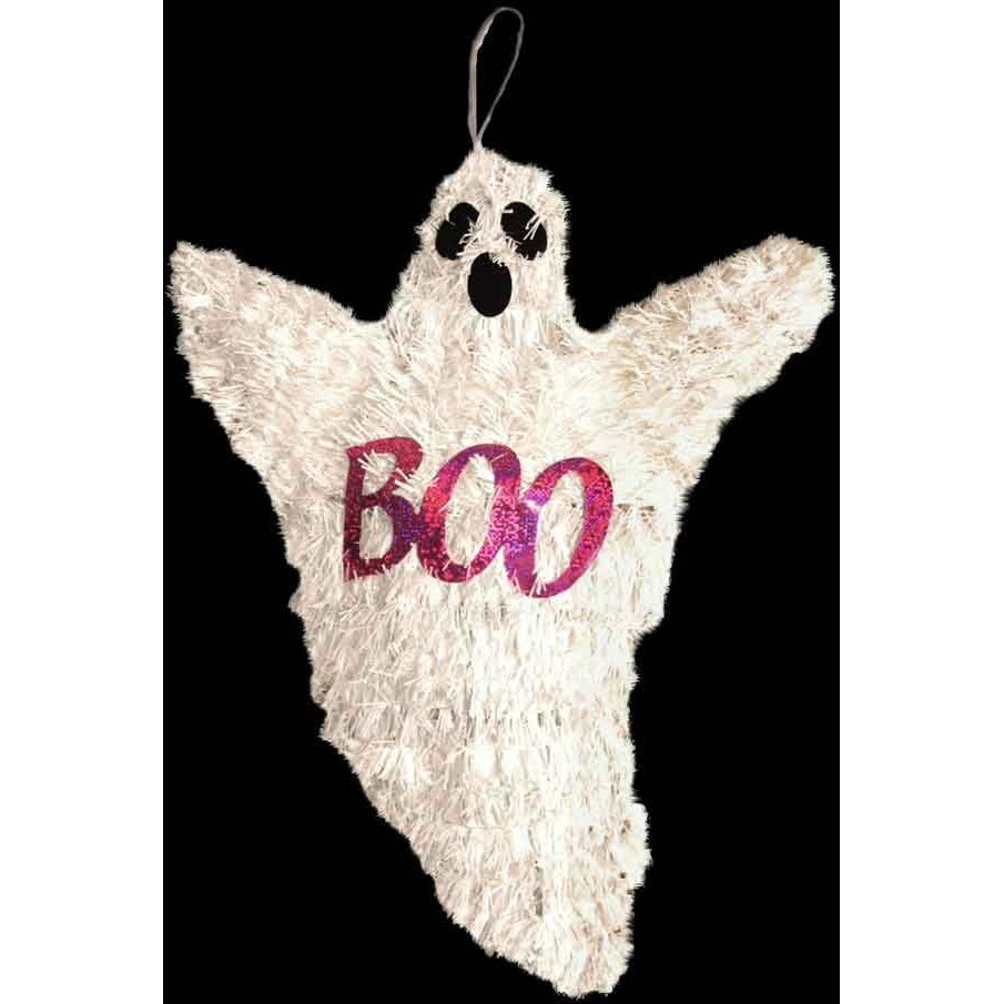 Halloween Tinsel Ghost