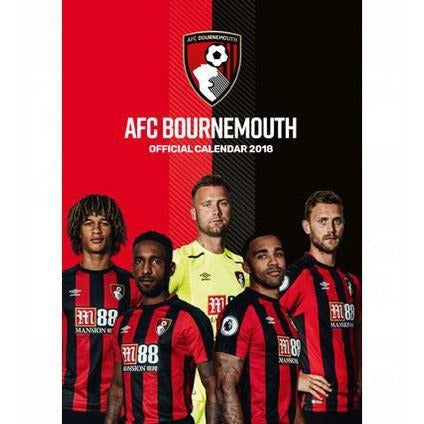 2018 Official Calendar Bournemouth FC A3 sold out at danilo