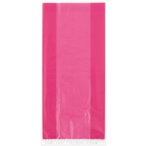 30 Hot Pink Cello Bags