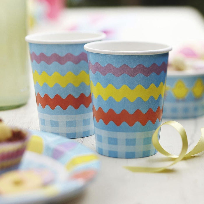 Easter Chick - Cups 8 Pack