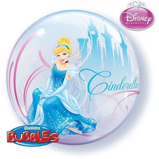 "22""  SINGLE BUBBLE        01CT,  DN CINDERELLA'S ROYAL DEBUT"