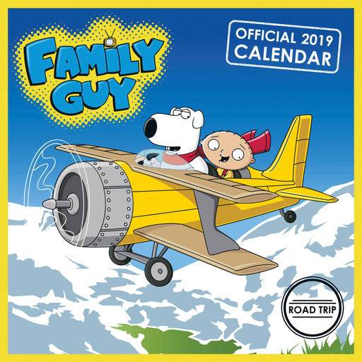 2019 Official Calendar Square Family Guy