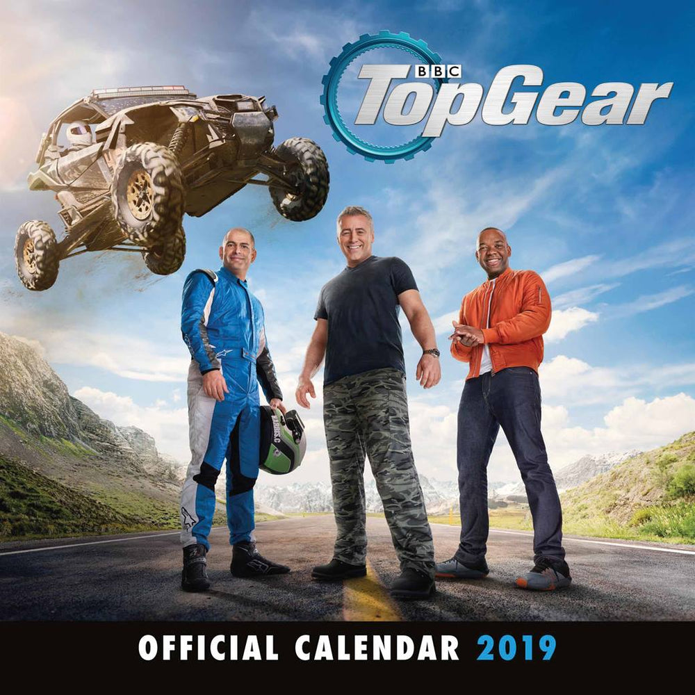 2019 Official Calendar Square Top Gear