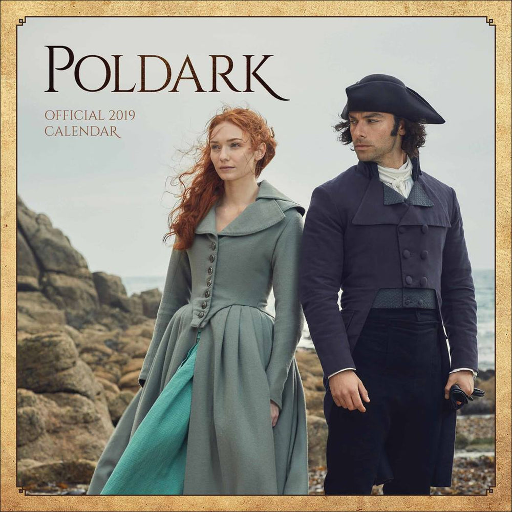 2019 Official Calendar Square Poldark