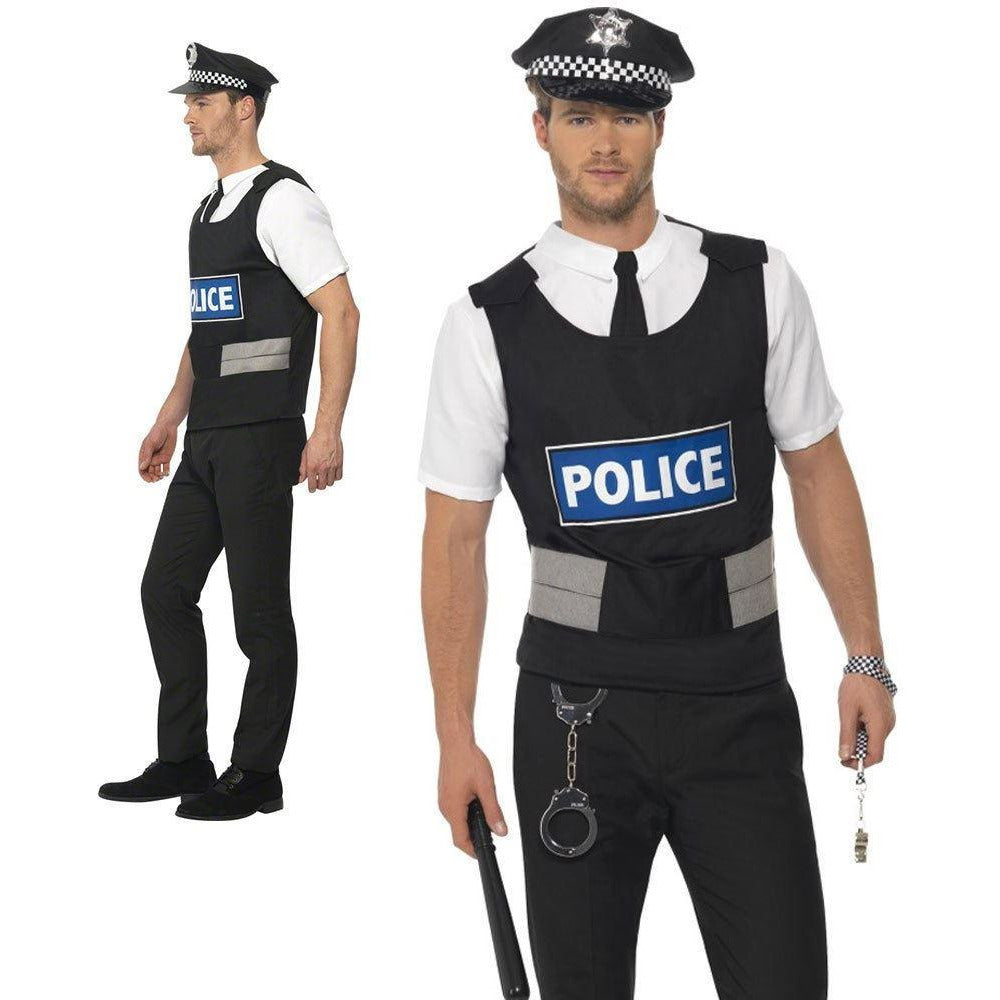Smiffys Policeman Instant Kit Large