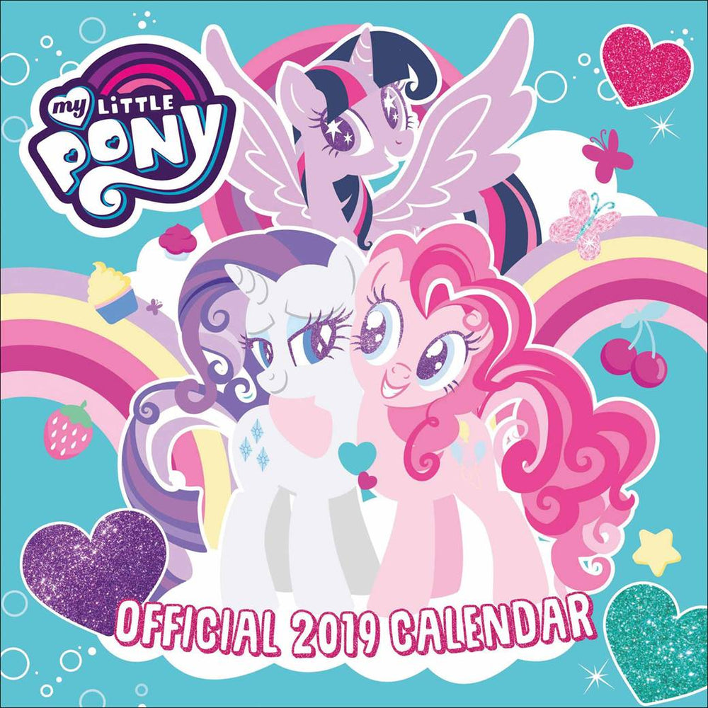 2019 Official Calendar Square My Little Pony