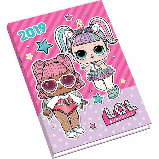 2019 Official Diary A6 LOL Surprise