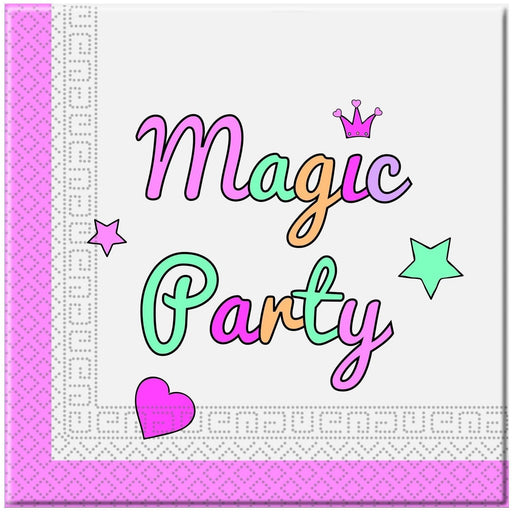 Magic Unicorn Party Napkins 20ct
