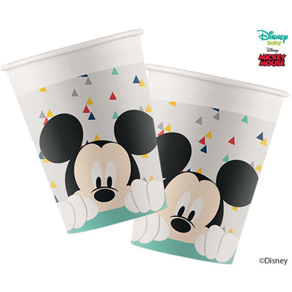Disney Awesome Mickey Mouse Paper Cups 200ml 8ct
