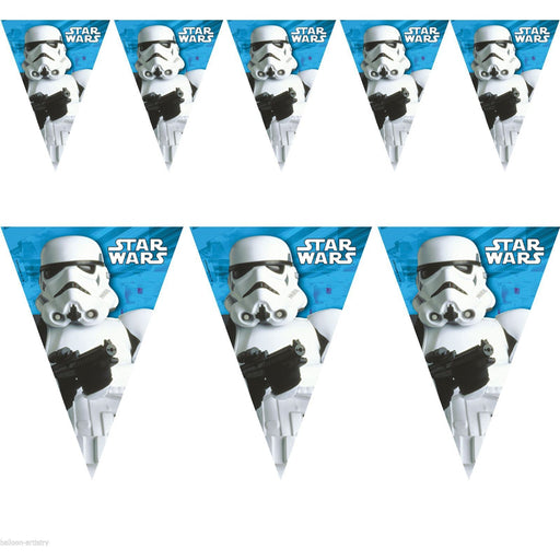 Star Wars Storm Trooper Flag Banner
