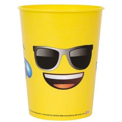 Emoji plastic cup- end of line April 2018