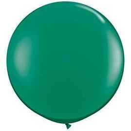 3FT  RND  EMERALD GREEN   02CT QUALATEX PLAIN LATEX