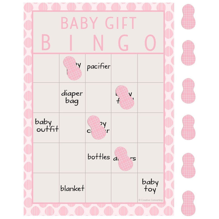 Little Peanut Girl Bingo - end of line