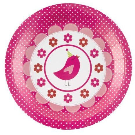 Little Bird Party Plate - 8 Pack