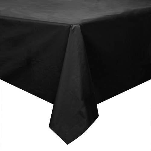 black table cover Packaged (special Pricing in 720 35p- 72 40p)