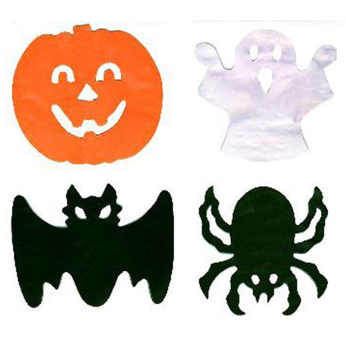 2 Spooky Garlands Ghost & Bat Halloween Davies Halloween