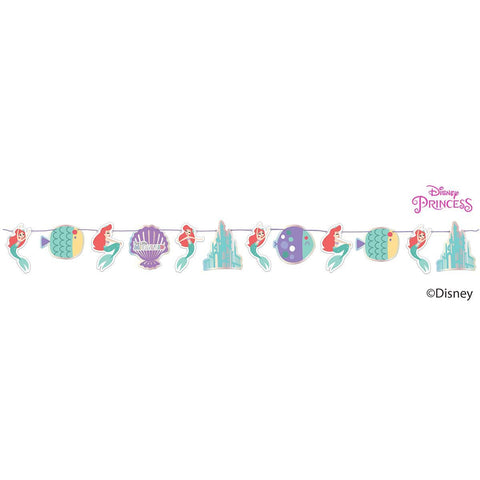 Disney Ariel Under the Sea Paper Garland Kit